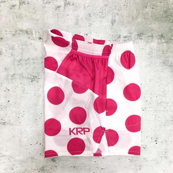 KRPランパン 5inch SHORTS 山岳賞(白ベース)(krphp60)