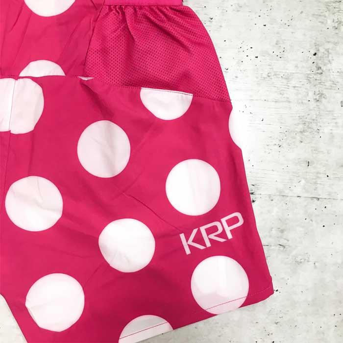 KRPランパン 5inch SHORTS 逆山岳賞(ピンクベース)(krphp61)