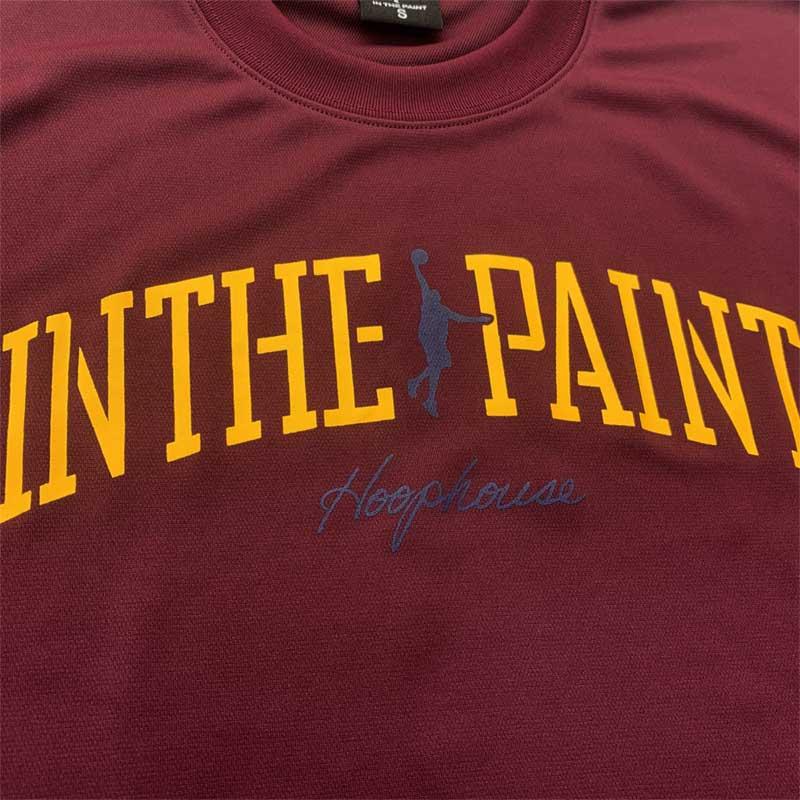IN THE PAINT インザペイント フープハウスオリジナル ロンT 長袖Tシャツ バスケットボール ロングスリーブ itphh(itp2151hh)