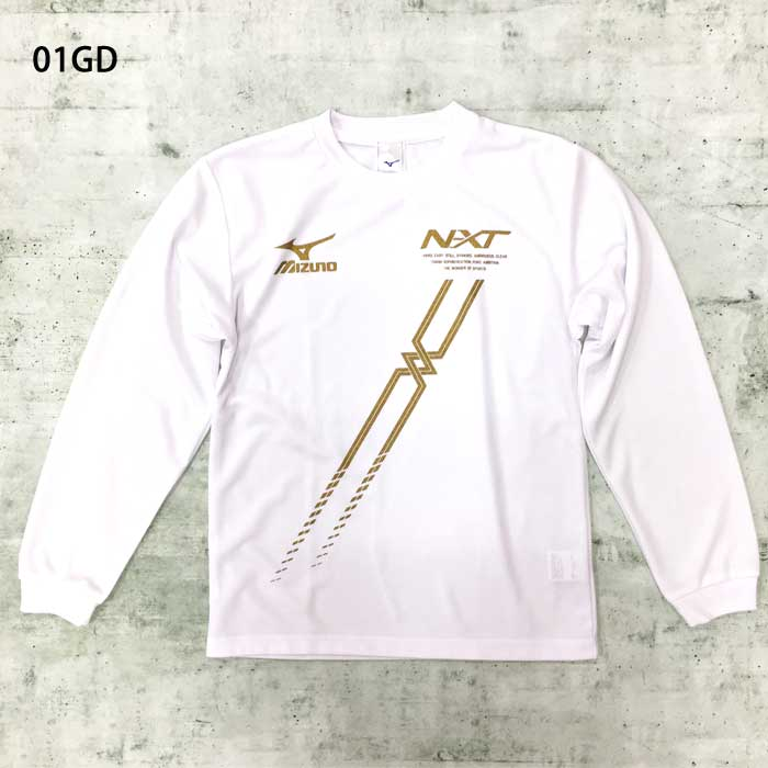 MIZUNO ミズノ オリジナル長袖Tシャツ(斜めNXTロゴ) ロンT 陸上 ランニングウェア 62sp16(51sp201601)