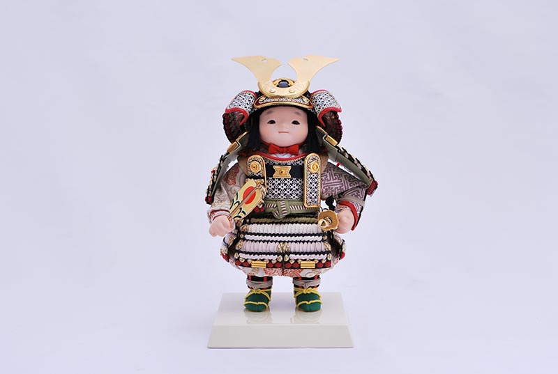 青葉アクリルケース入り(鎧着大将)