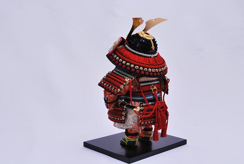輝収納飾り(鎧着大将)