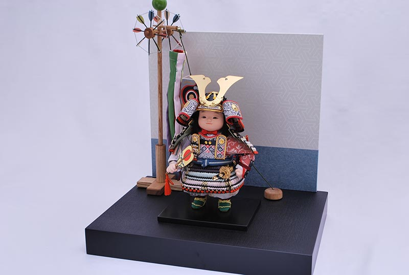 涼平飾り(鎧着大将)