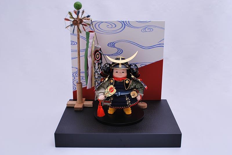 伊達小出飾り(鎧着大将)