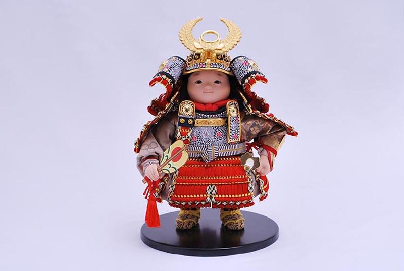 徳川家康出飾り(鎧着大将)