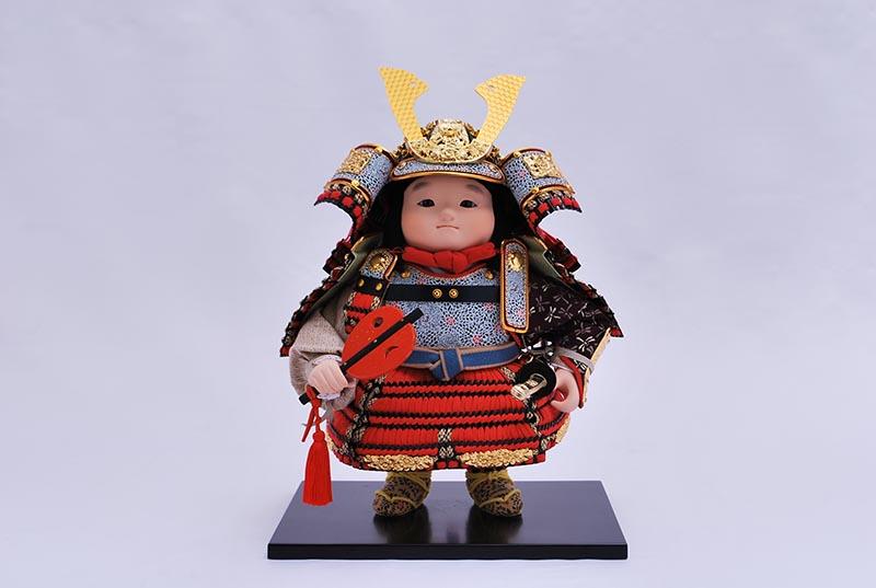 凛平飾り(鎧着大将)