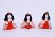 はる十人朱塗り三段出飾り(10人飾り)