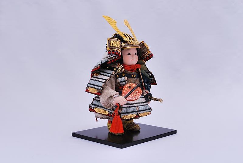 宙平飾り(鎧着大将)
