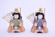 はる十五人朱塗り四段出飾り(15人飾り)