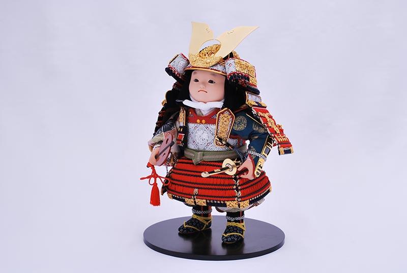 洋平飾り(鎧着大将)