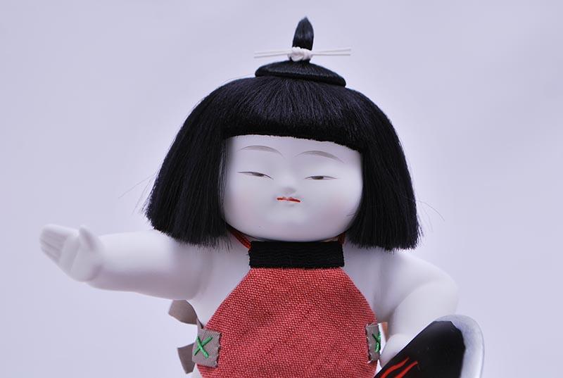 四寸御所金太郎(衣裳着ケース)