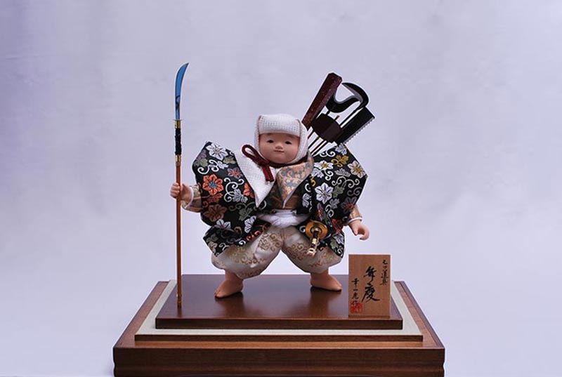 十号童子弁慶七つ道具(衣裳着ケース)