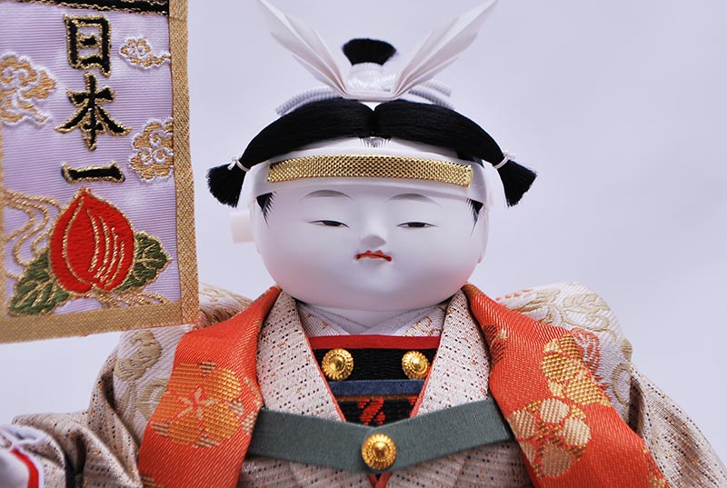 七号御所桃太郎(衣裳着ケース)