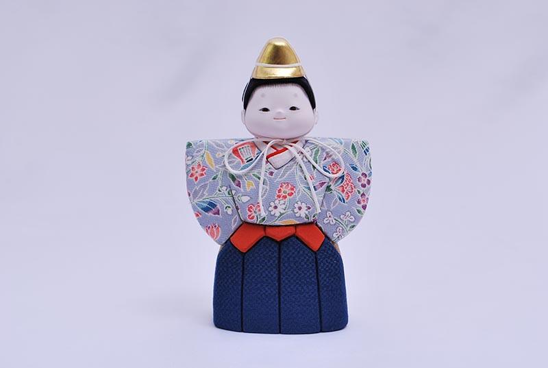 柚収納飾り(立雛)