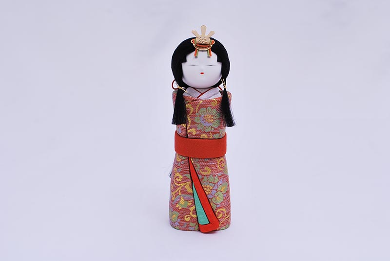 瑠璃出飾り(立雛)