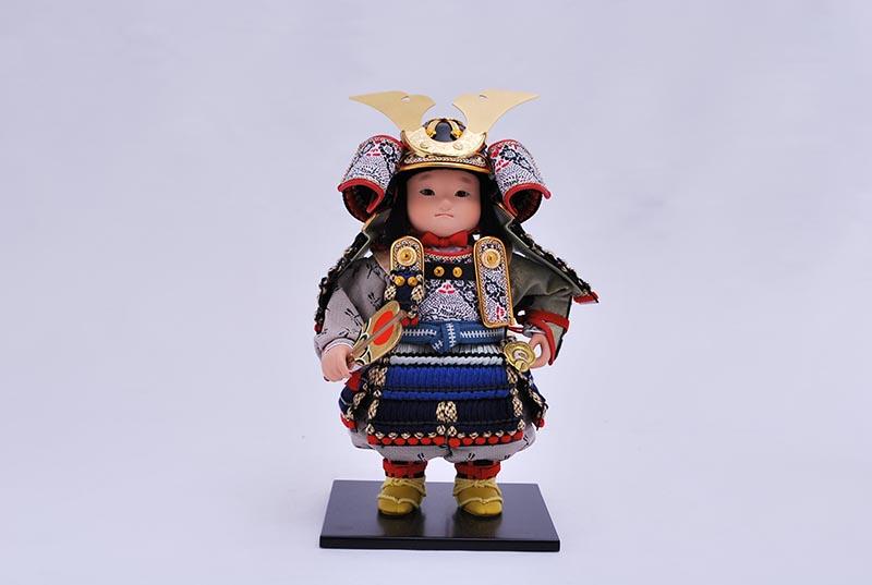 希平飾り(鎧着大将)