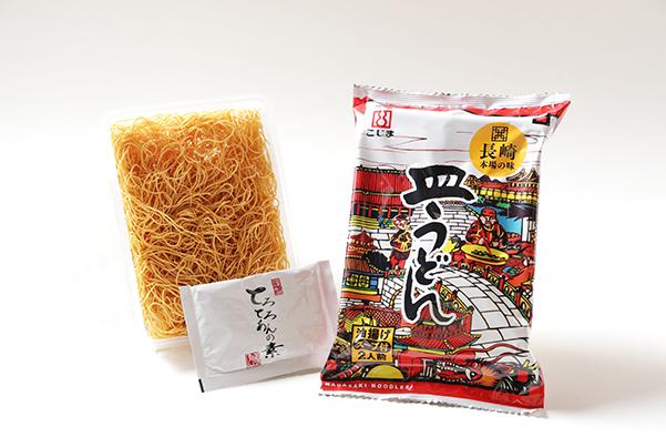 送料込みでお得!ちゃんぽん、皿うどん各10食(スープ付)※北海道・沖縄は別途1320円かかります