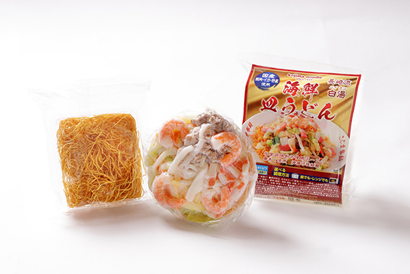 送料込みでお得! 海鮮具入りちゃんぽん,皿うどん各3食 ※北海道・沖縄は除きます