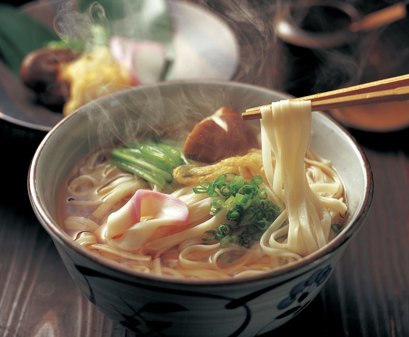 送料込み!塩から手作り無添加焼きあごスープと平たいうどん8食 ※着日指定、包装不可です