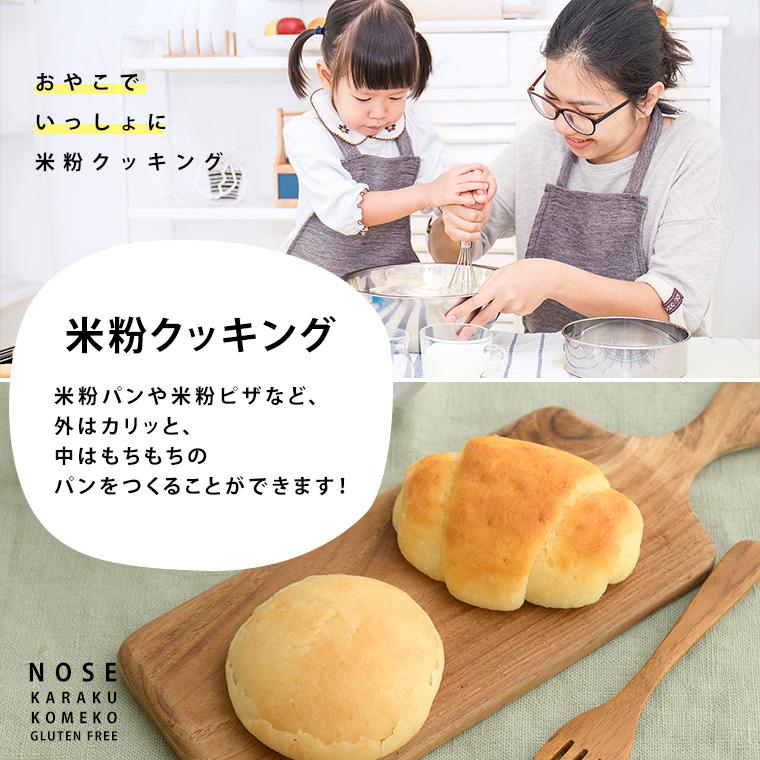 【メール便】 グルテンフリー 米粉  米粉パン専用粉500g×1袋