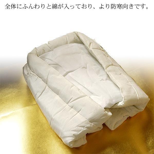 【在庫限】法衣用羽織下 シルクでんち 側地シルク100%・ふんわり肉厚テトロン中綿