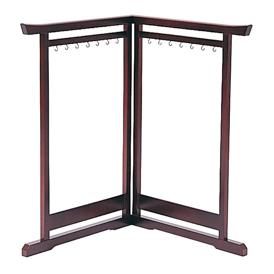 【日本製】筆掛二ツ折[桜] 幅72cm×奥行1.7cm×高さ52cm
