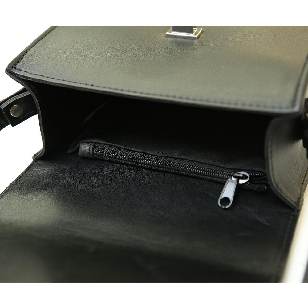 【Ayasashop】ミニショルダーレザーバッグ