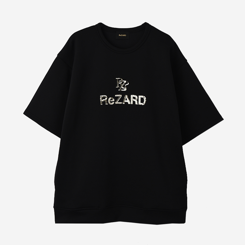 【ReZARD】Sequin Short-sleeve Sweatshirts
