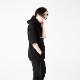 【ReZARD】Sequin Short-sleeve Hoodie