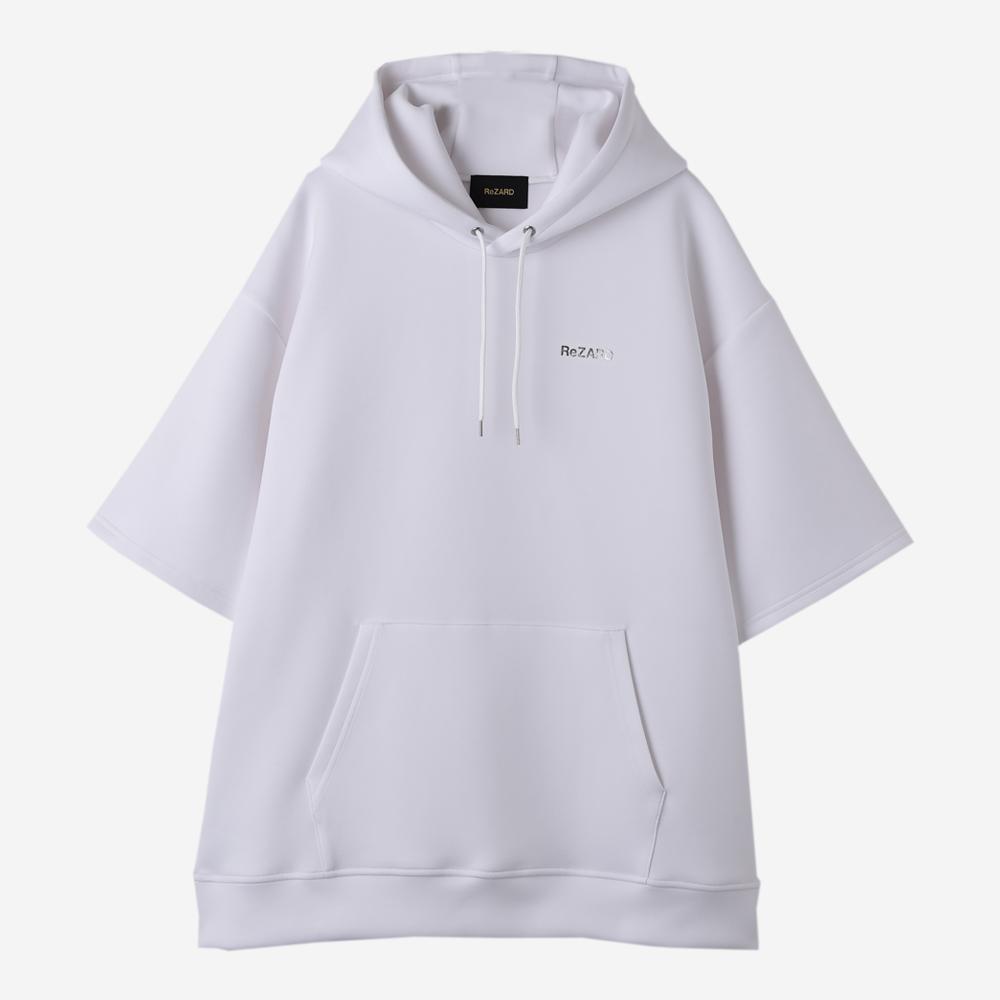 【ReZARD】Logo Short-sleeve Hoodie