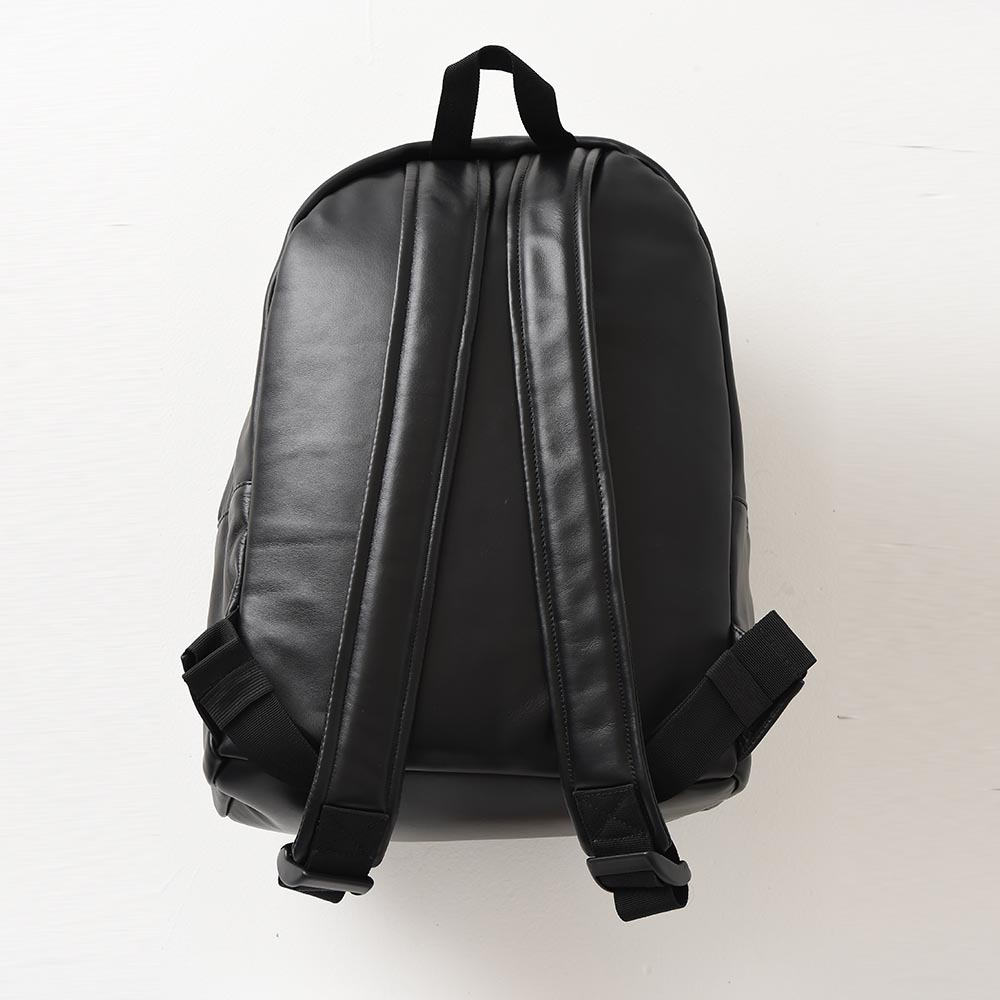 【ReZARD】Metal plate Leather Backpack