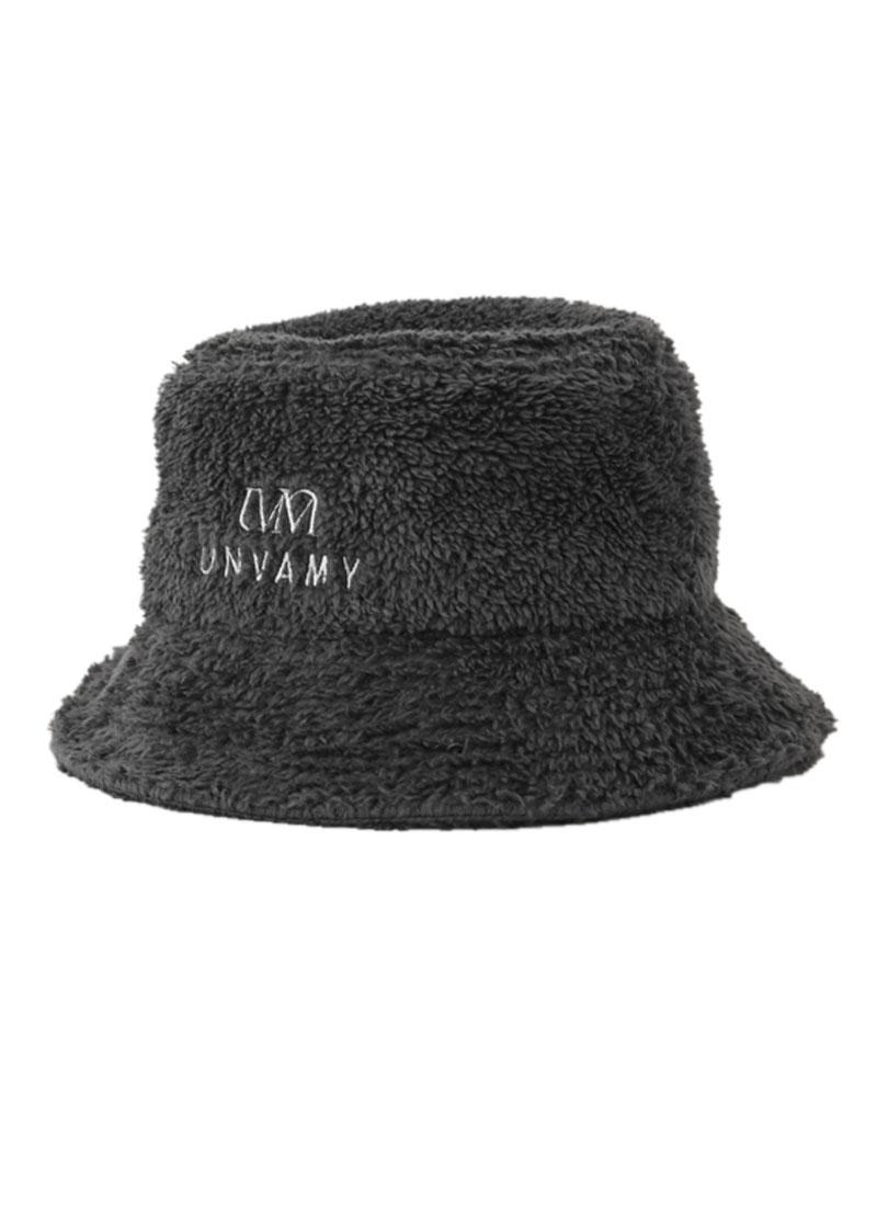 【UNVAMY】ボアバケットハット/UNISEX(ダークグレー)