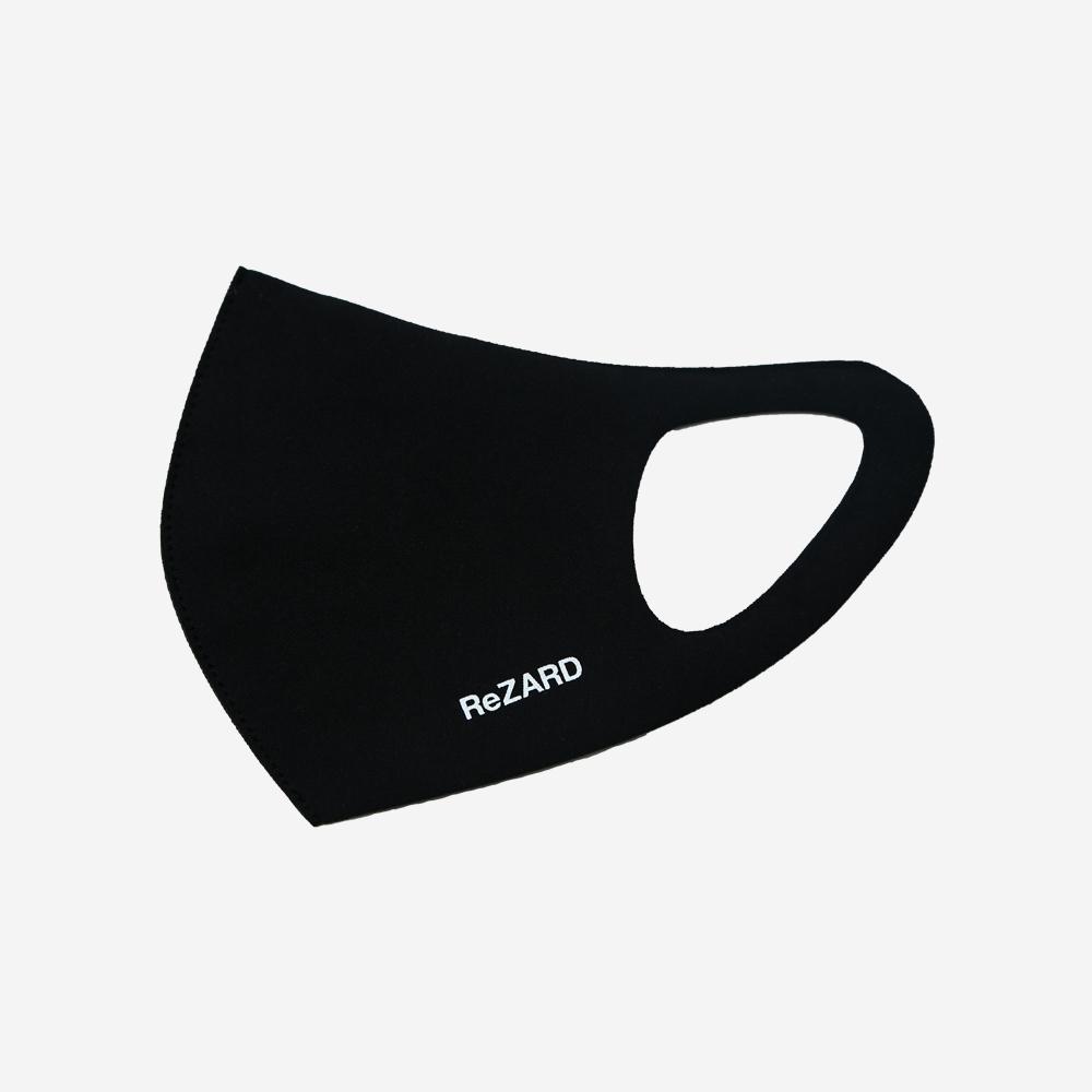 【ReZARD】ReZARD Logo Mask(White Logo)