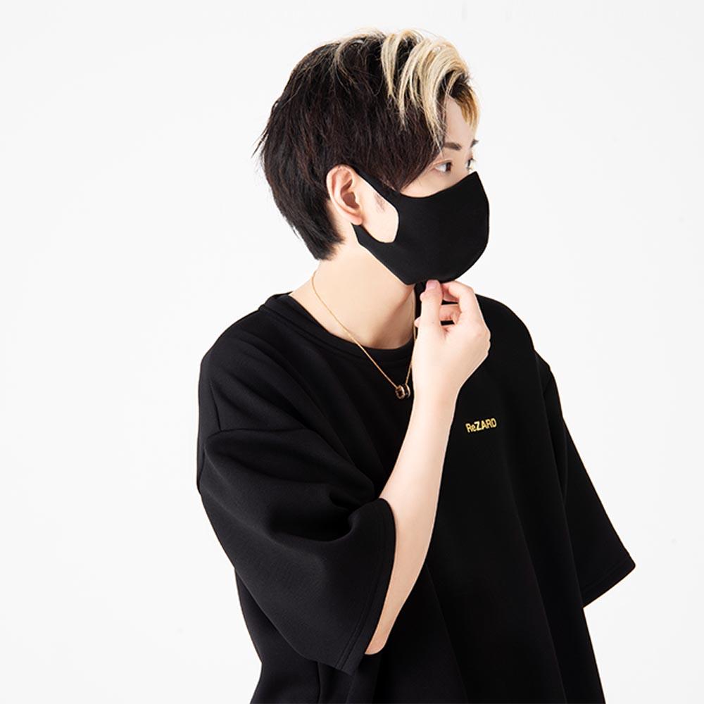 【ReZARD】RZ Logo Mask(White Logo)