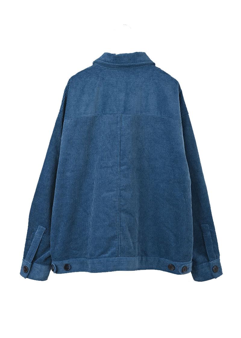 【UNVAMY】コーデュロイジャケット/MENS(ダークブルー)