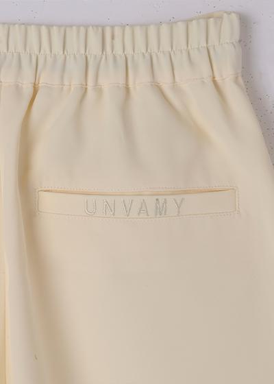 【UNVAMY】トロミショートパンツ/WOMENS(アイボリー)