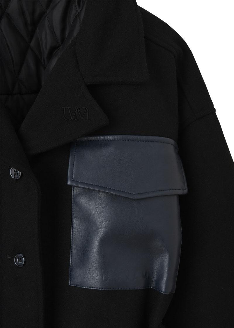 【UNVAMY】ウエストマークCPOジャケット/WOMENS(ブラック)