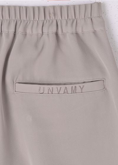 【UNVAMY】トロミショートパンツ/WOMENS(グレー)