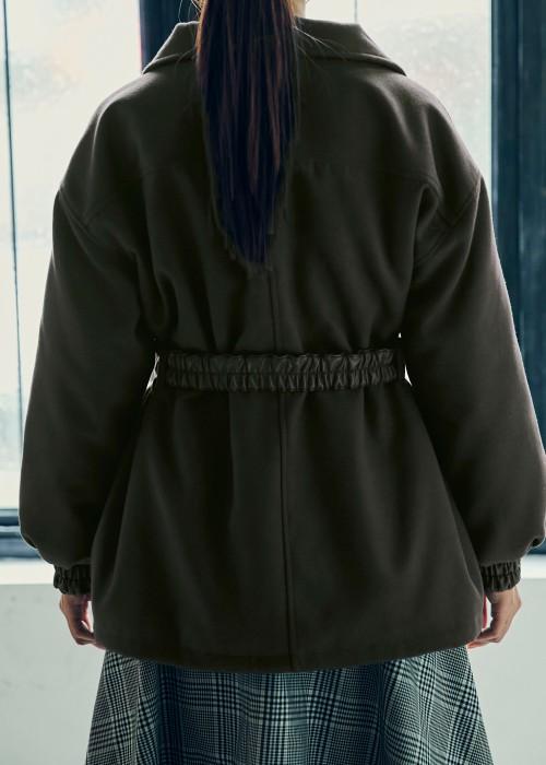 【UNVAMY】ウエストマークCPOジャケット/WOMENS(カーキ)