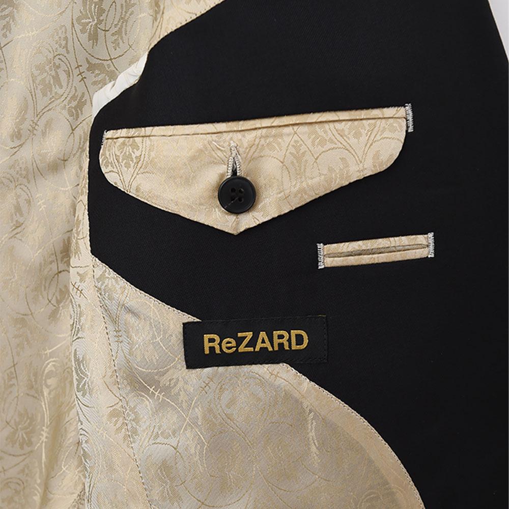 【オーダースーツSADAxReZARD】ReZARDモデルオーダースーツ(Zegna / Black)