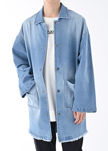 【UNVAMY】オーバーサイズデニムジャケット/MENS