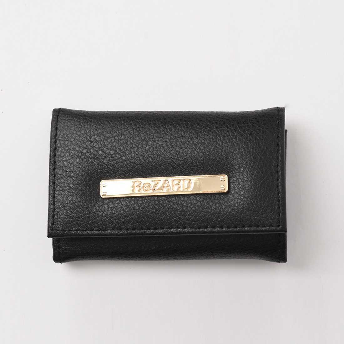 【ReZARD】Metal plate Leather Key case