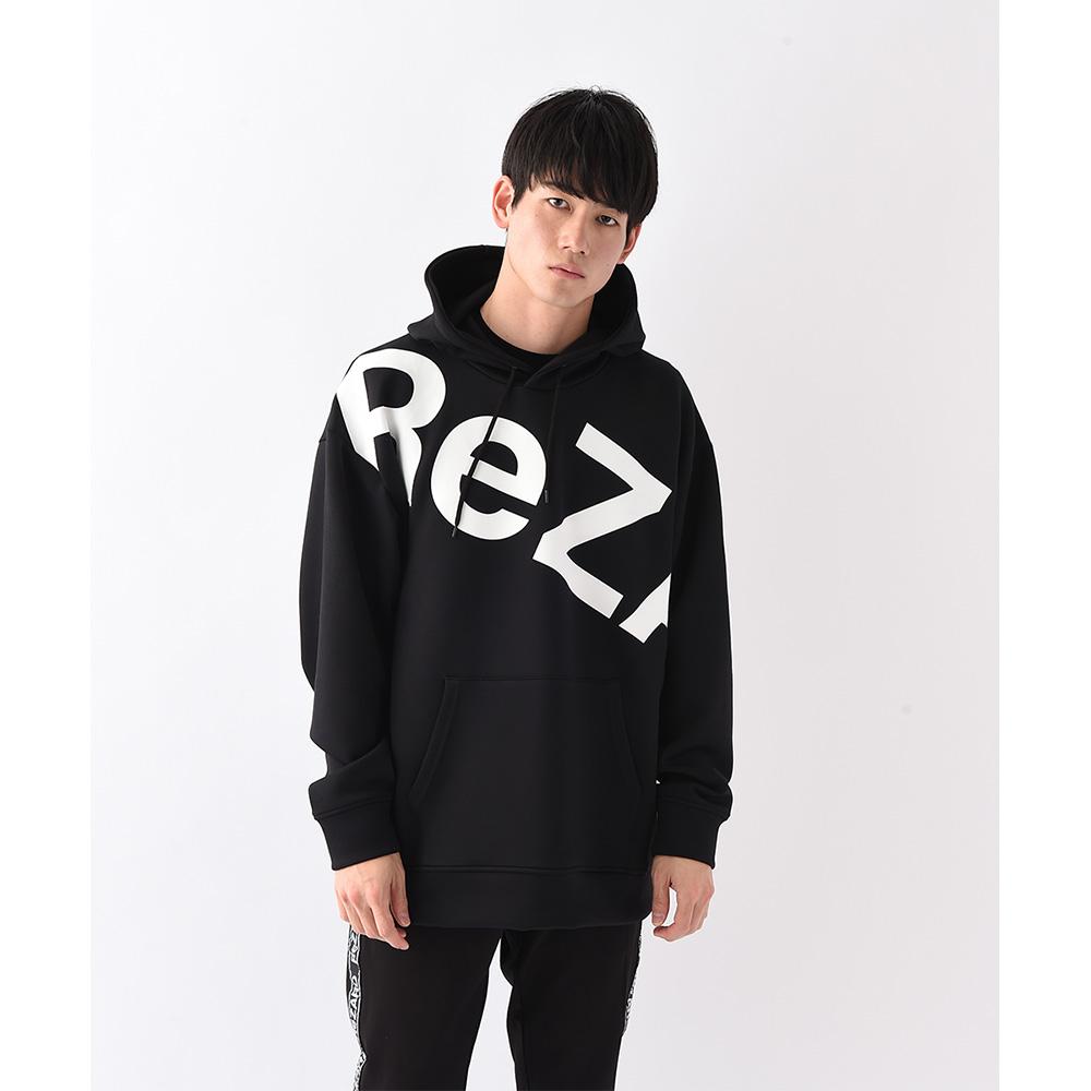【ReZARD】Big logo Hoodie(Black)