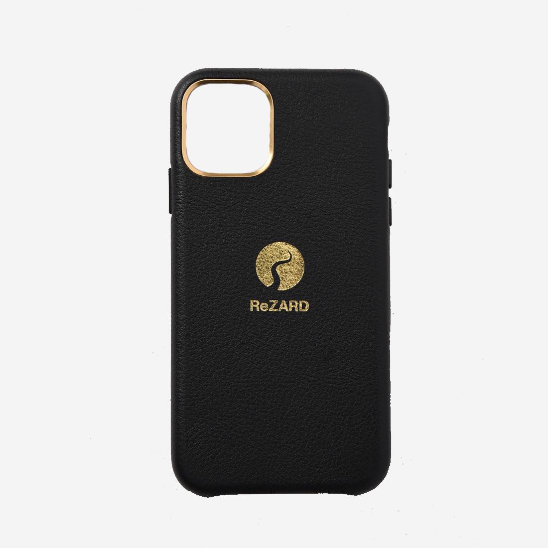 【ReZARD】Logo Leather iPhone case