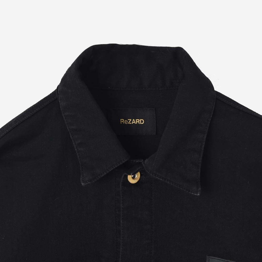 【ReZARD】Regular-fit Denim Jacket
