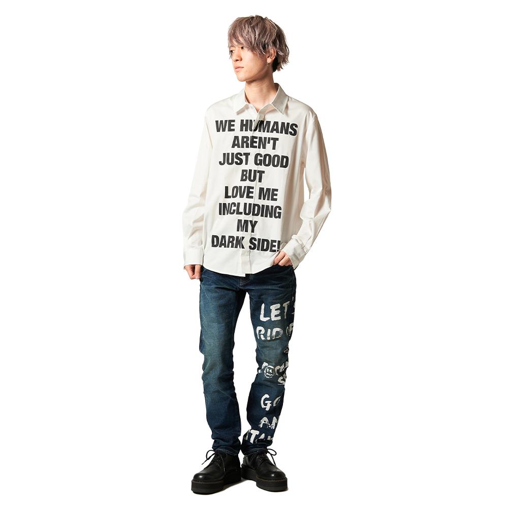 【glamb×ReZARD コラボ】Message denim