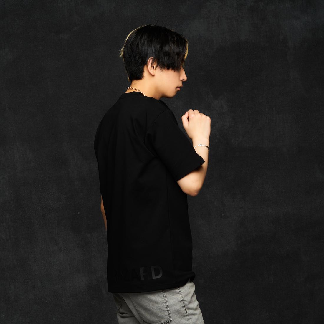【ReZARD】One-point logo regular-fit T-shirts