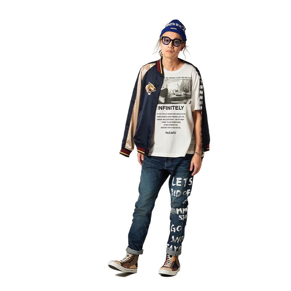 【glamb×ReZARD コラボ】GR knit cap