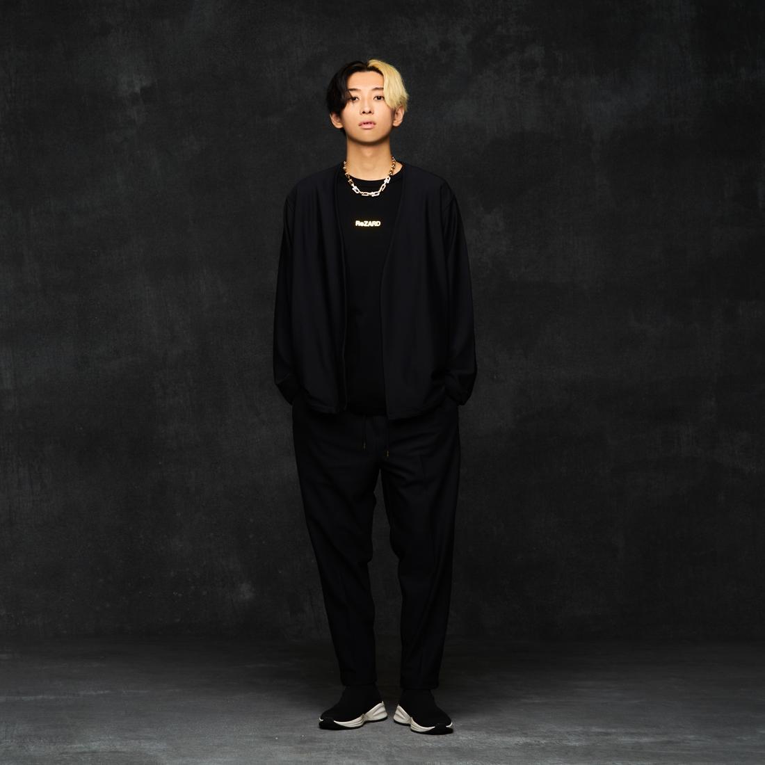 【ReZARD】SETUP No collar Jacket/Cropped Trousers