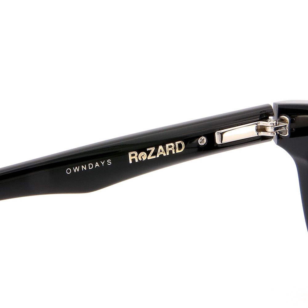 【OWNDAYS x ReZARD】RZ2001T-1S(ブラック)